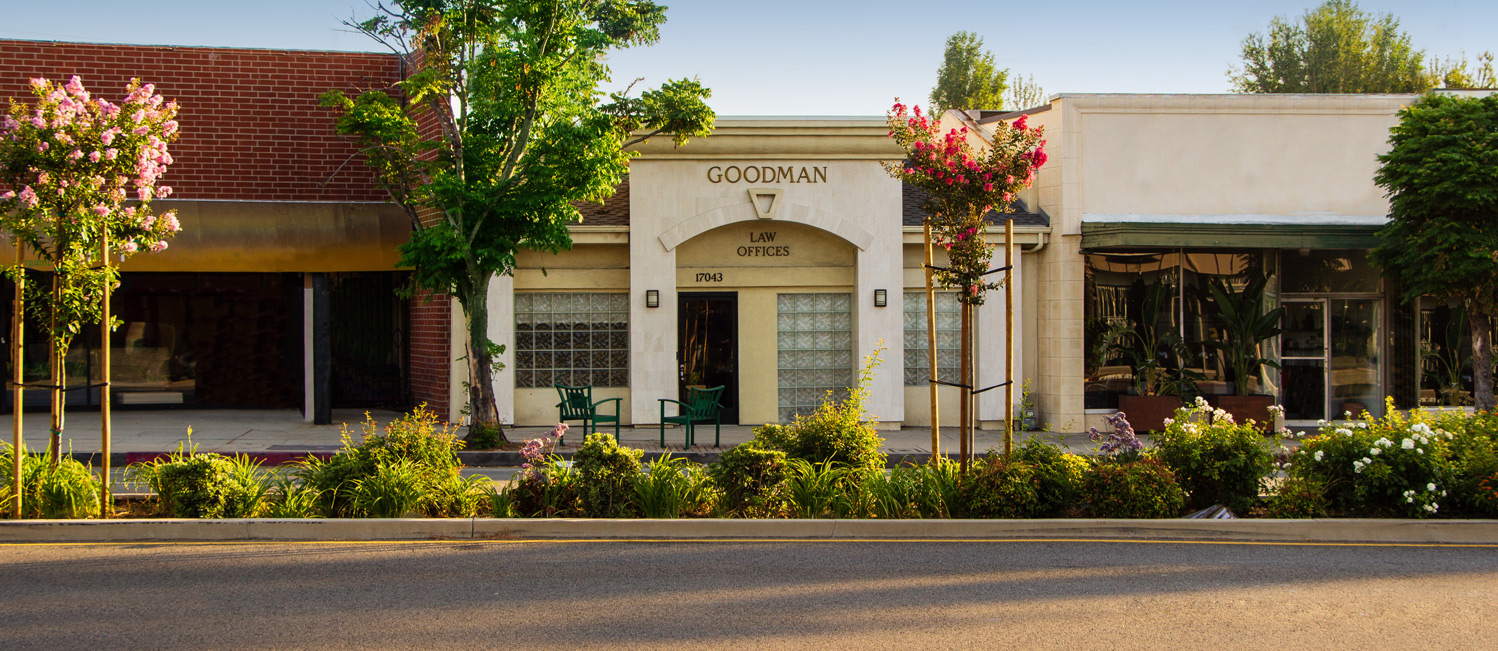Street view of the Diane M. Goodman office on Ventura Blvd